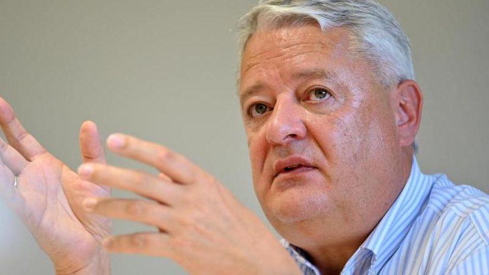 Lutz Hasse, Landesbeauftragter für den Datenschutz. Foto: Martin Schutt/dpa-Zentralbild/dpa/Archivbild