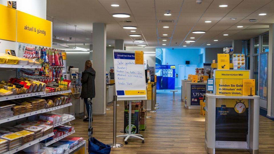 Die Deutsche Post will künftig Lebensmittel liefern.