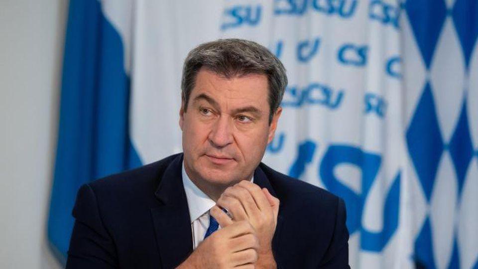 Markus Söder, der CSU-Parteivorsitzende und Ministerpräsident von Bayern. Foto: Sven Hoppe/dpa-Pool/dpa