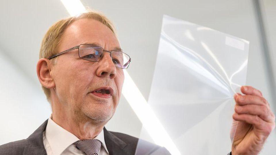 Robert Gereke, Vorstandsvorsitzender von Tesa SE. Foto: Axel Heimken