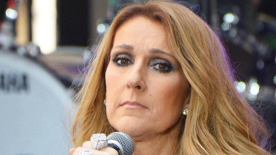 Céline Dion bei einem ihrer Auftritte