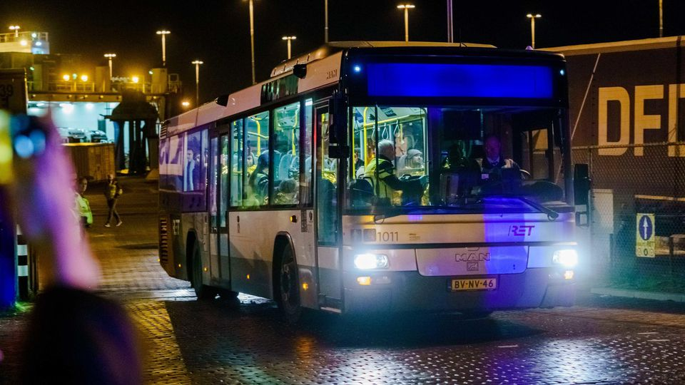 25 blinde Passagiere in Kühlcontainer
