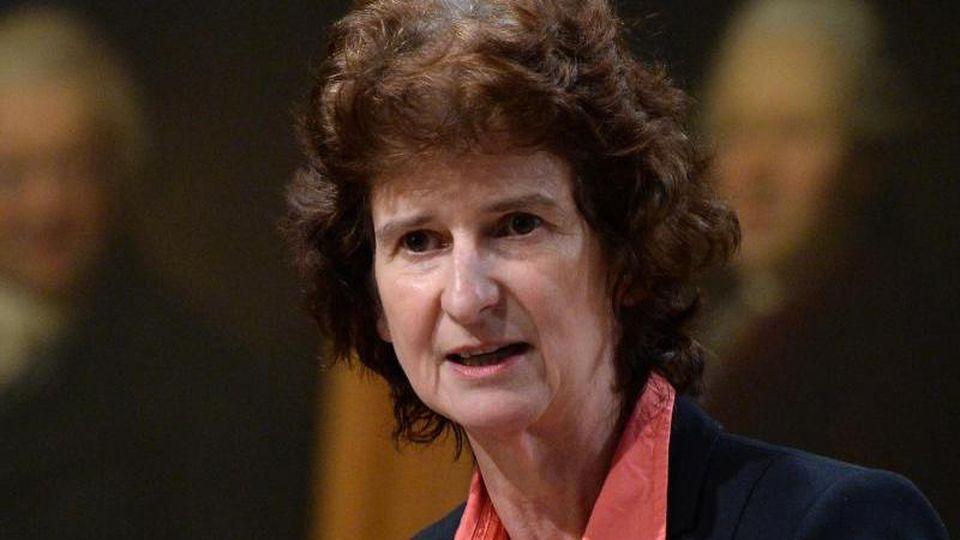 SPD-Politikerin Eva-Maria Stange. Foto: Hendrik Schmidt/zb/dpa/Archivbild