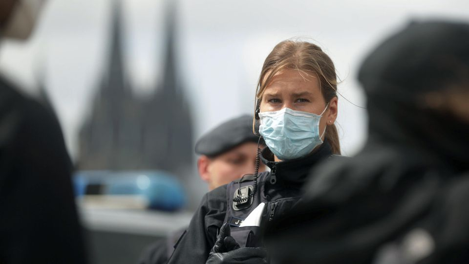 Coronavirus - Demonstrationen in Köln