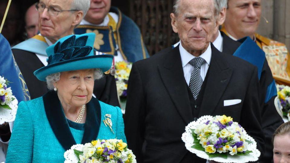 Prinz Philip und Ehefrau Queen Elizabeth II.