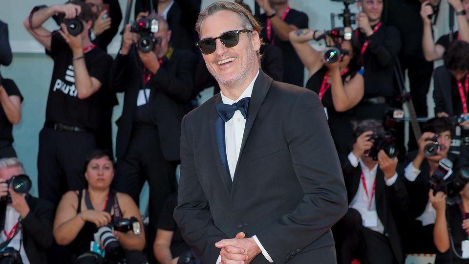 """Der """"Joker"""" mit Joaquin Phoenix feiert Premiere bei den 76. Filmfestspielen von Venedig."""