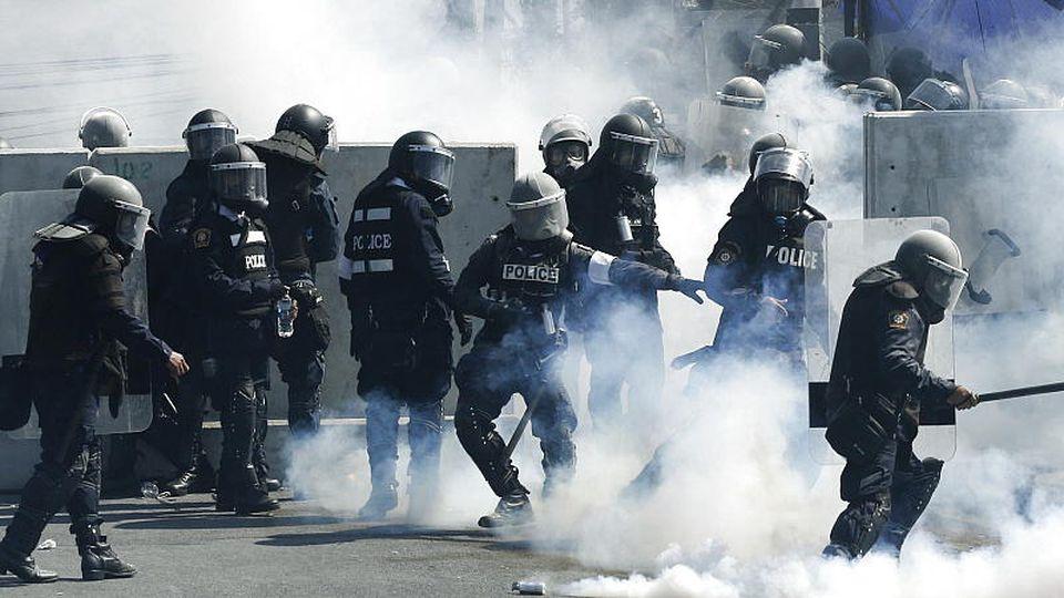 Thailand Demonstrationen Bangkok