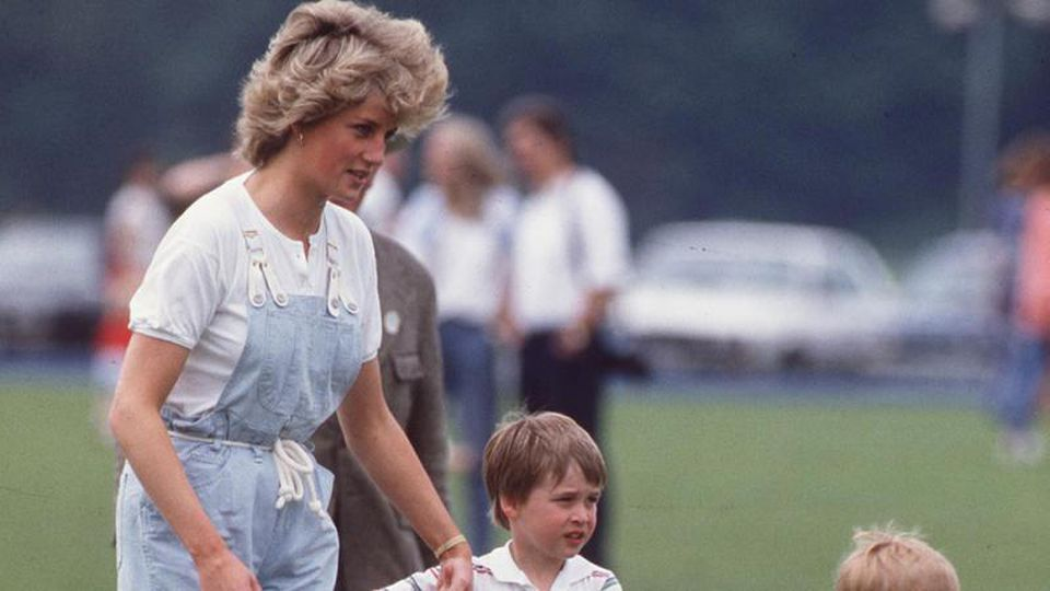Prinzessin Diana mit Söhnen