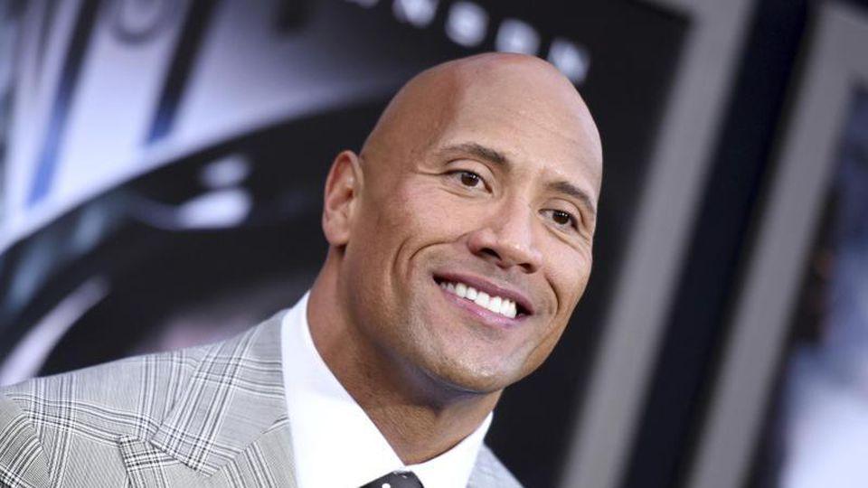 """Dwayne Johnson führt die """"Forbes""""-Liste der bestbezahlten Schauspieler an. Foto: Richard Shotwell/Invision/AP"""