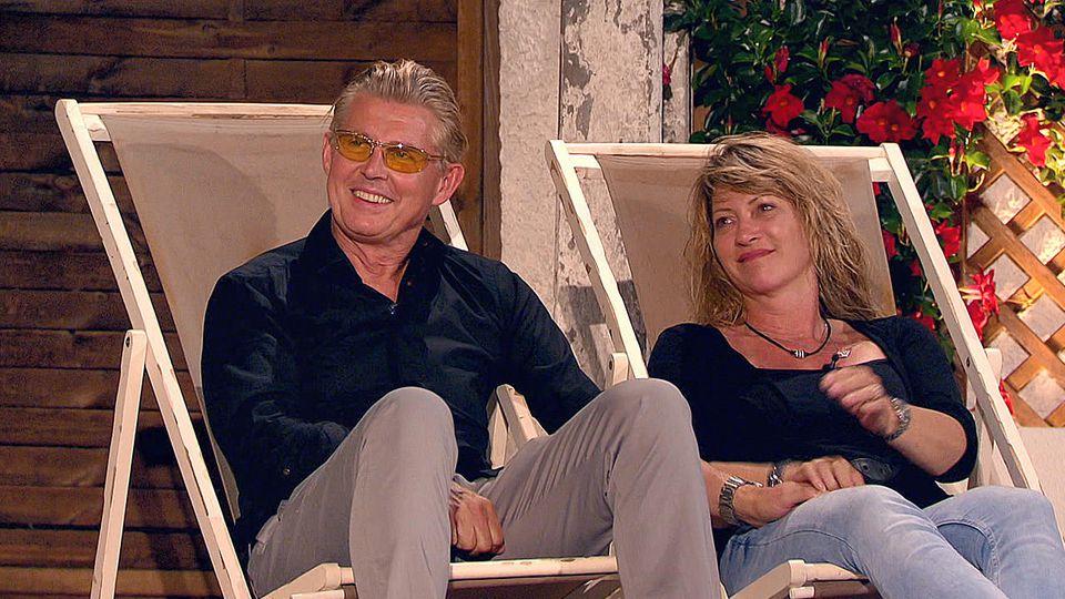 Markus und Yvonne nehmen ihr Sommerhaus-Aus mit Fassung auf.