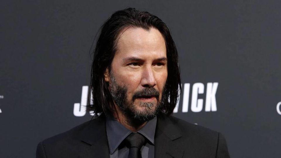 """Hauptdarsteller Keanu Reeves bei der Premiere von """"John Wick: Kapitel 3"""""""