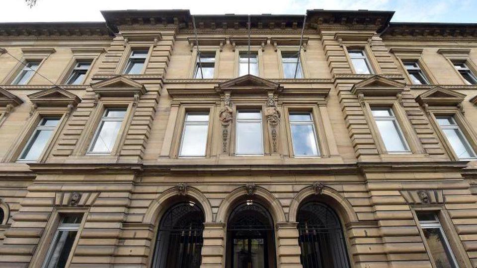Das Landgericht in Karlsruhe. Foto: Uli Deck/dpa/Archivbild