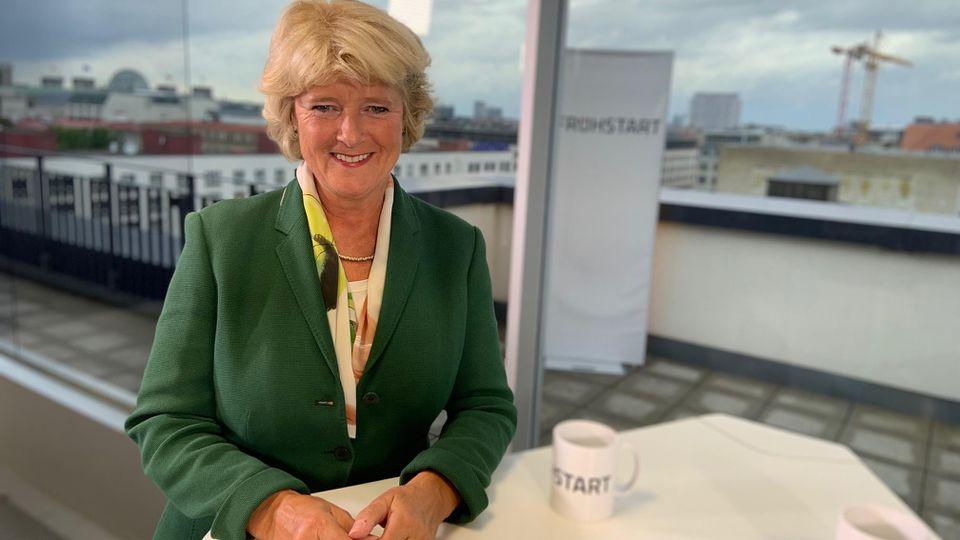 Kulturstaatsministerin Monika Grütters (CDU) im RTL-Frühstart