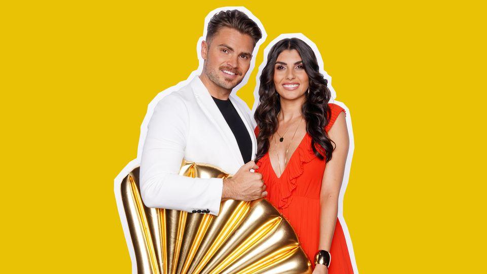 """Johannes Haller und Yeliz Koc freuen sich auf die Teilnahme bei """"Das Sommerhaus der Stars"""" 2019."""