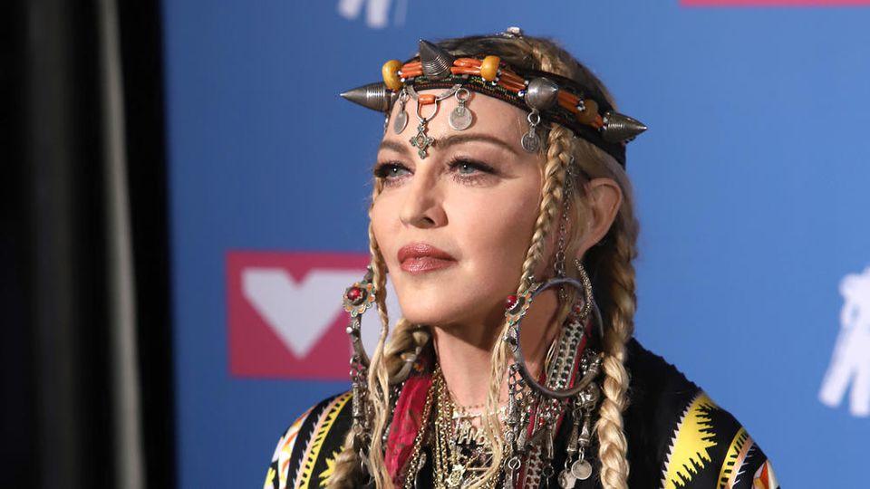 Madonna hat höchstwahrscheinlich mit Knieproblemen zu kämpfen