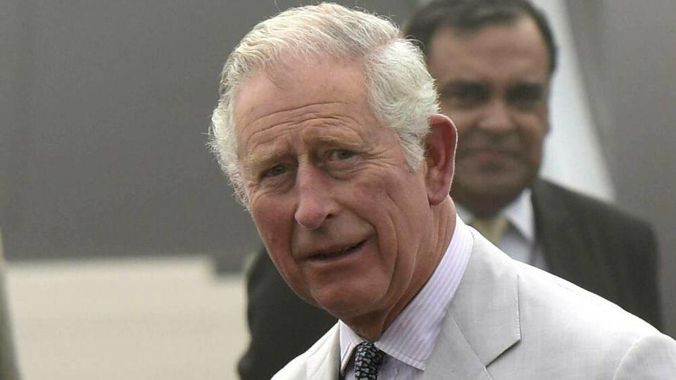 Prinz Charles während seines letzten Besuches 2017 in Indien