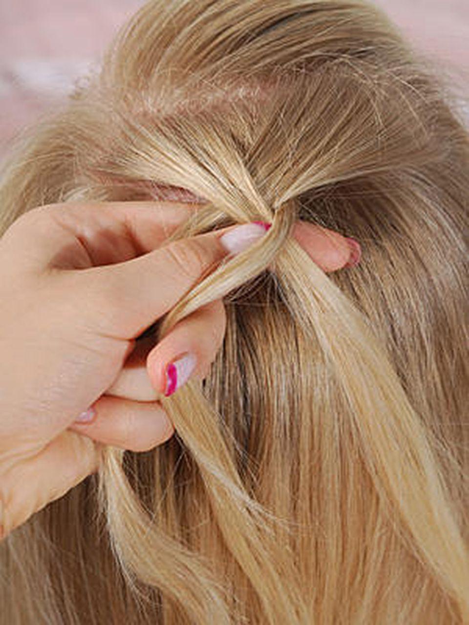 Bauernzopf Anleitung Haare Flechten Lernen