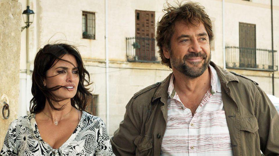 """Penélope Cruz und Javier Bardem in """"Offenes Geheimnis""""."""