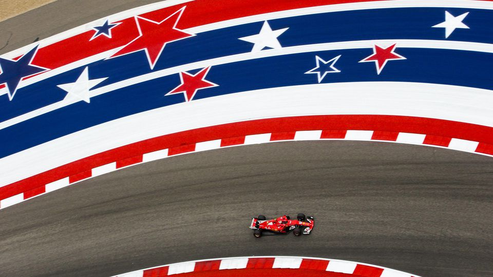 Circuit of the Americas, Austin, Texas, United States of America. Friday 20 October 2017. Kimi Raikkonen, Ferrari SF70H. World AN7T2573 PUBLICATIONxINxGERxSUIxAUTxHUNxONLY
