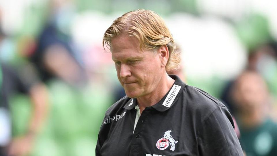 Steht vor der Vertragsverlängerung beim 1. FC Köln: Trainer Markus Gisdol. Foto: Carmen Jaspersen/dpa
