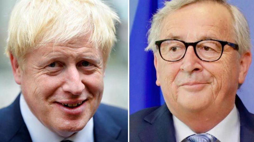 Auch beimTreffen von Boris Johnson (L) und Jean-Claude Juncker wird es um den für Ende Oktober geplanten Brexit gehen. Foto: Pa/PA Wire