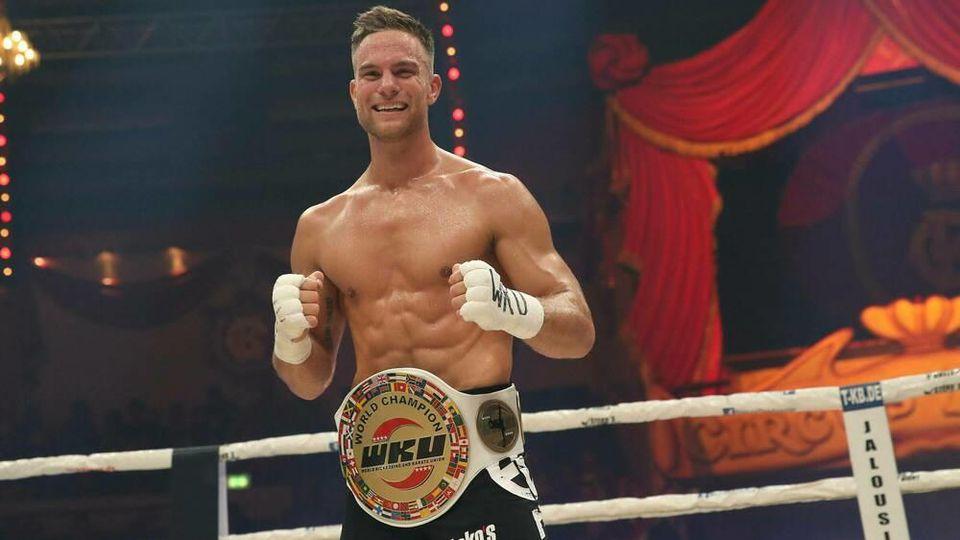Sebastian Preuss ist nicht nur gelernter Maler, sondern auch Kickbox-Weltmeister