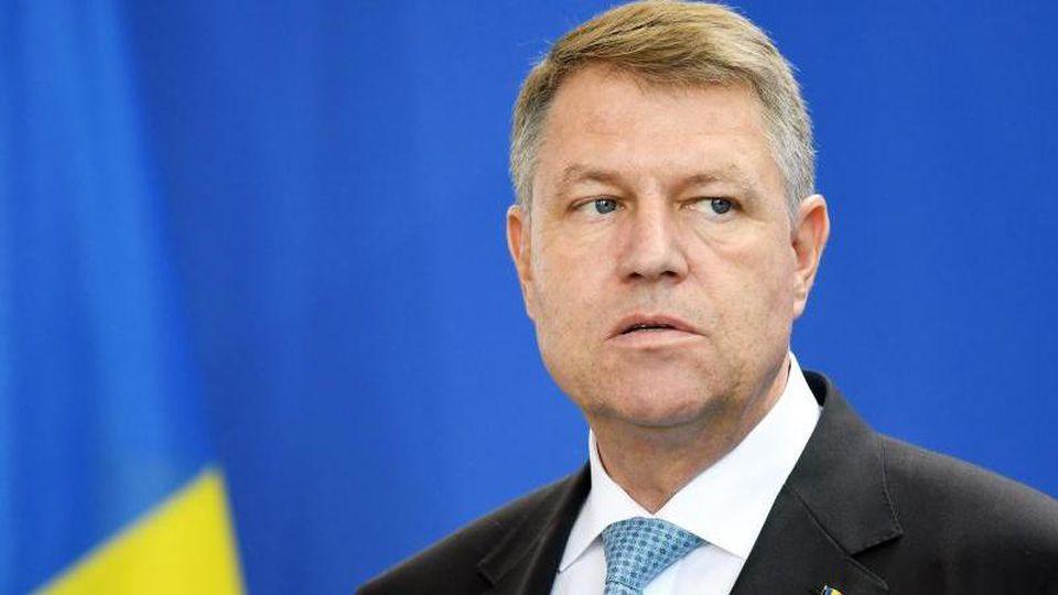 Klaus Iohannis ist seit 2014 Präsident vonRumänien und wurde im November im Amt bestätigt. Foto: Maurizio Gambarini/dpa