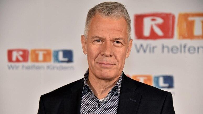 Der Moderator Peter Kloeppel posiert am 22 11 2018 in Hürth bei Köln beim 23 RTL Spendenmarathon wi