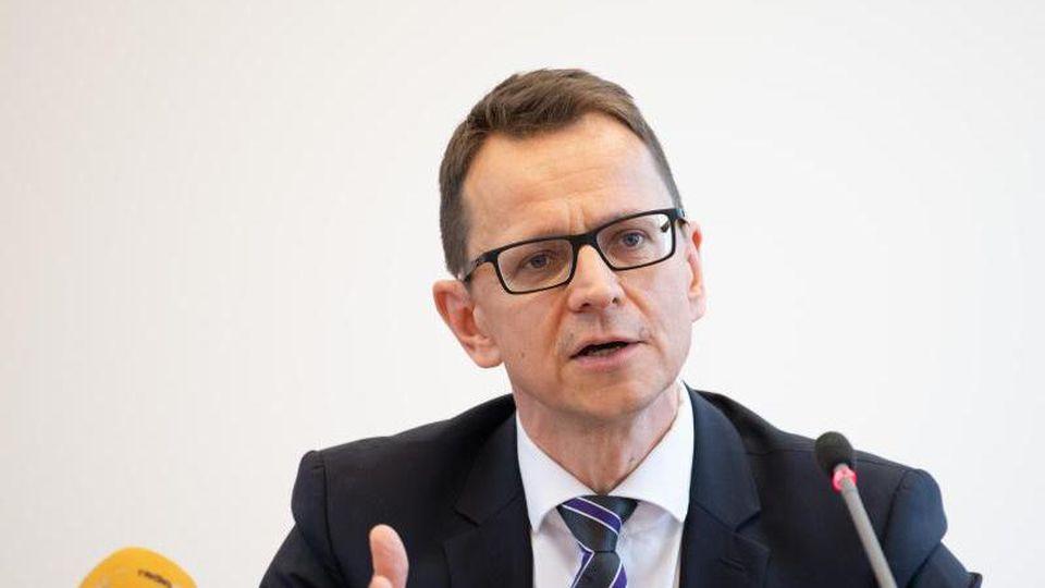 Jörg Müller, Leiter des Verfassungsschutzes in Brandenburg. Foto: Soeren Stache/dpa-Zentralbild/dpa/Archiv
