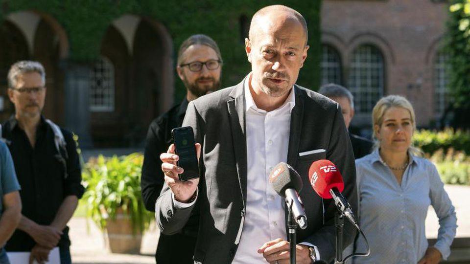 Magnus Heunicke, Gesundheitsminister von Dänemark. Foto: Martin Sylvest/Ritzau Scanpix/AP/dpa/Archivbild