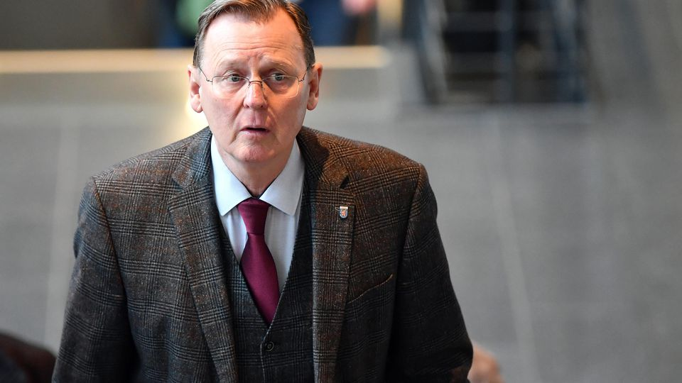 Fraktionssitzungen im Thüringer Landtag - Linke