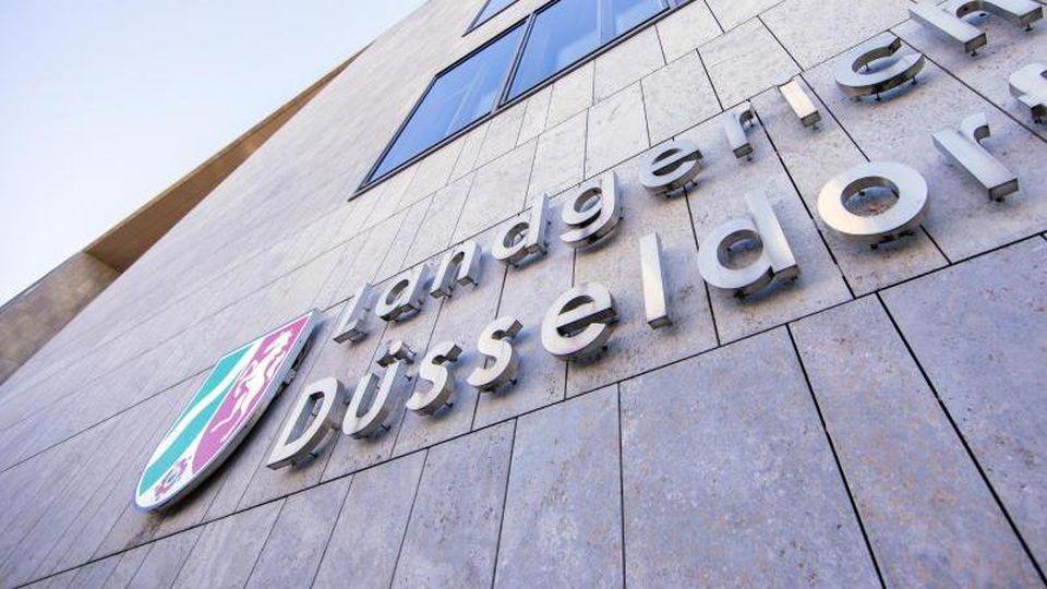 Blick auf das Landgericht in Düsseldorf. Foto: Rolf Vennenbernd/Archivbild