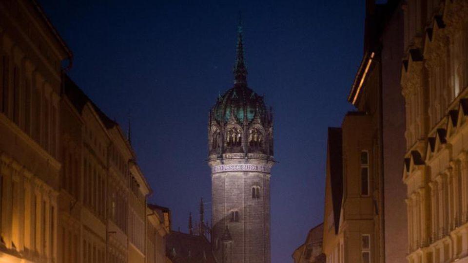 Die Schlosskirche in Wittenberg. Foto: Klaus-Dietmar Gabbert/dpa-Zentralbild/ZB/Archivbild