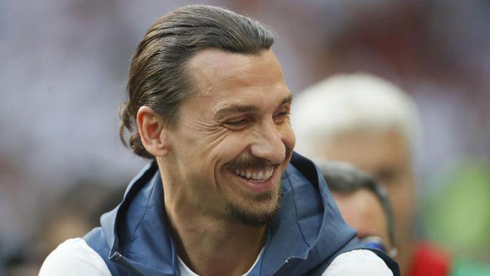 Könnte demnächste im Trikot des AC Mailand spielen:Zlatan Ibrahimovic. Foto: David Klein/CSM via ZUMA Wire/dpa