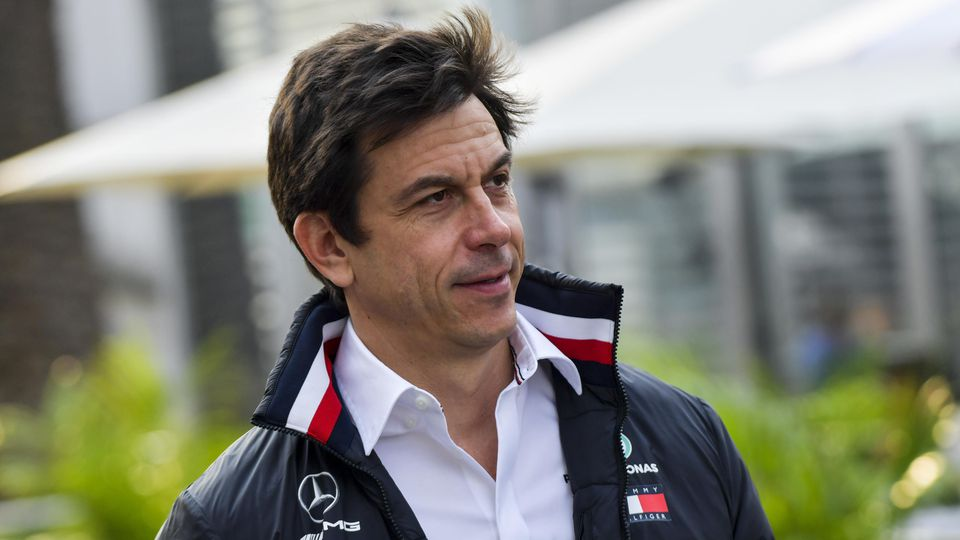 2019 Mexican GP MEXICO CITY - OCTOBER 25: Toto Wolff, Executive Director (Business), Mercedes AMG during the 2019 Formu