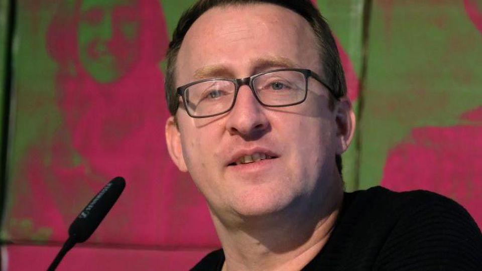 Norman Volger, Vorsitzender der sächsischen Grünen. Foto: Sebastian Willnow/dpa-Zentralbild/dpa/Archivbild