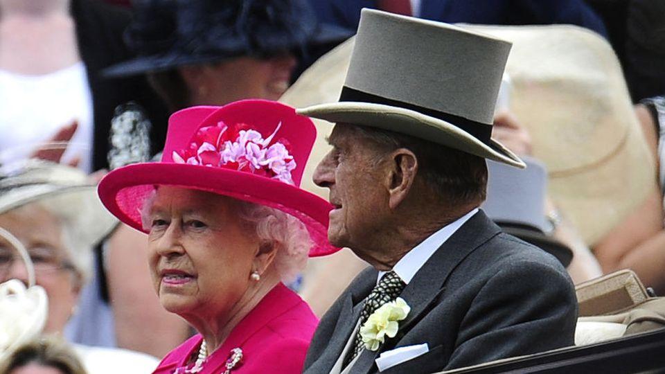 Queen Elizabeth II. und Prinz Philip kehren in ihre Heimat zurück.