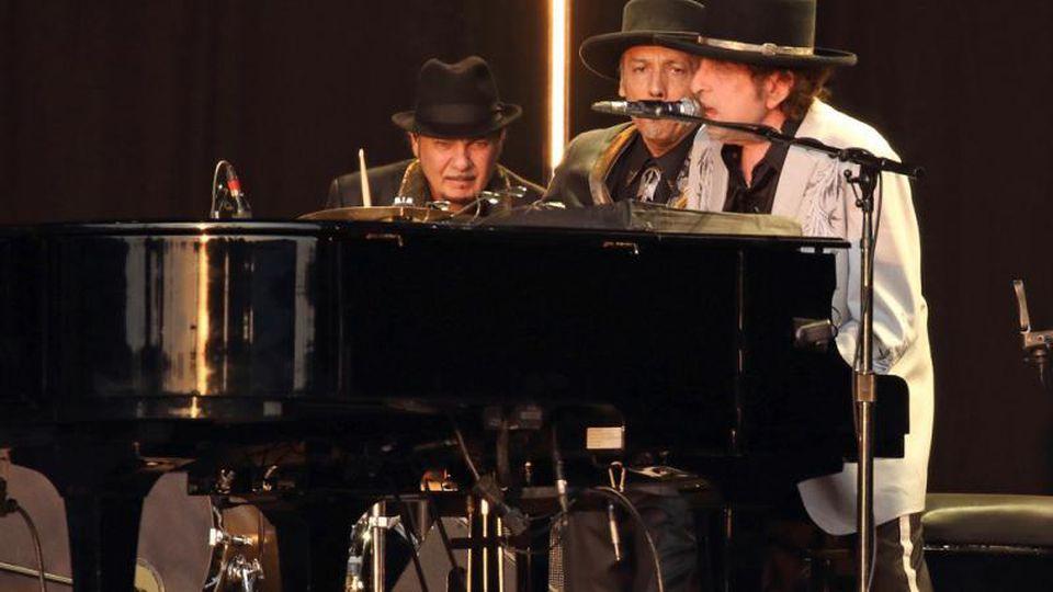 Bob Dylan und Neil Young im Hyde Park