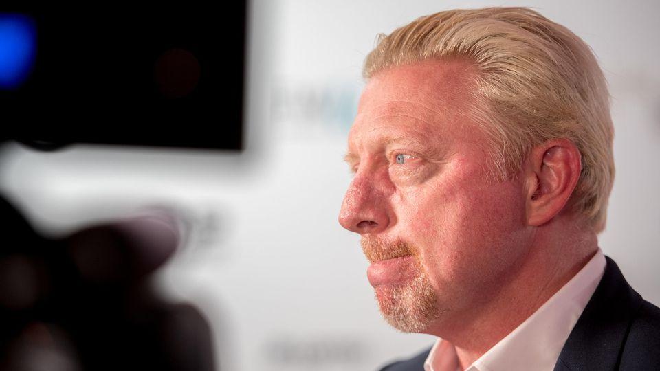 Beginn Online-Versteigerung von Boris Becker Memorabilien