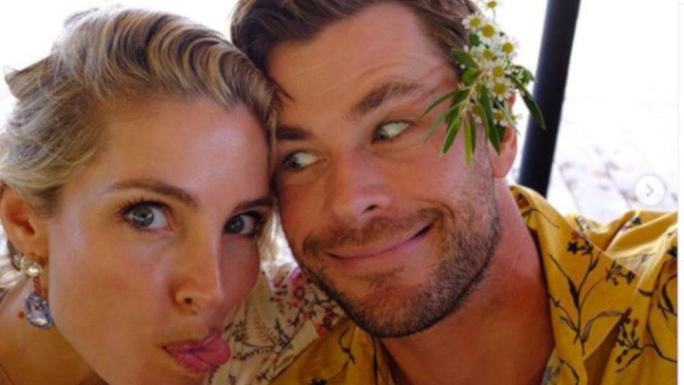 Chris Hemsworth hat sichtlich Spaß mit seiner Frau Elsa Pataky