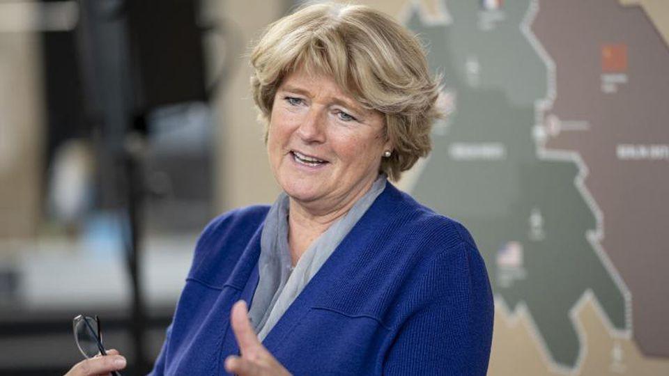Monika Grütters (CDU), Kulturstaatsministerin. Foto: Fabian Sommer/dpa/Archivbild