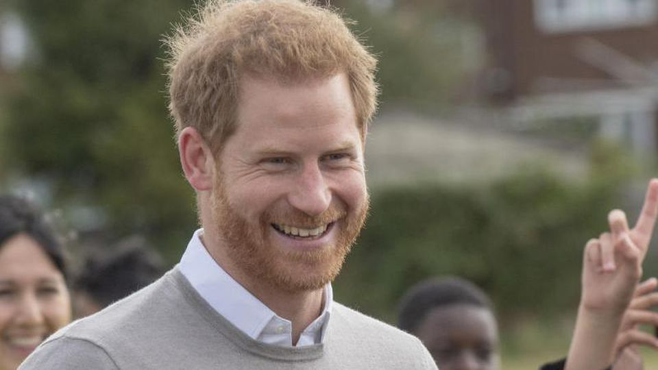 Eine Gratulation für Prinz Harry. Foto: Arthur Edwards/The Sun/PA