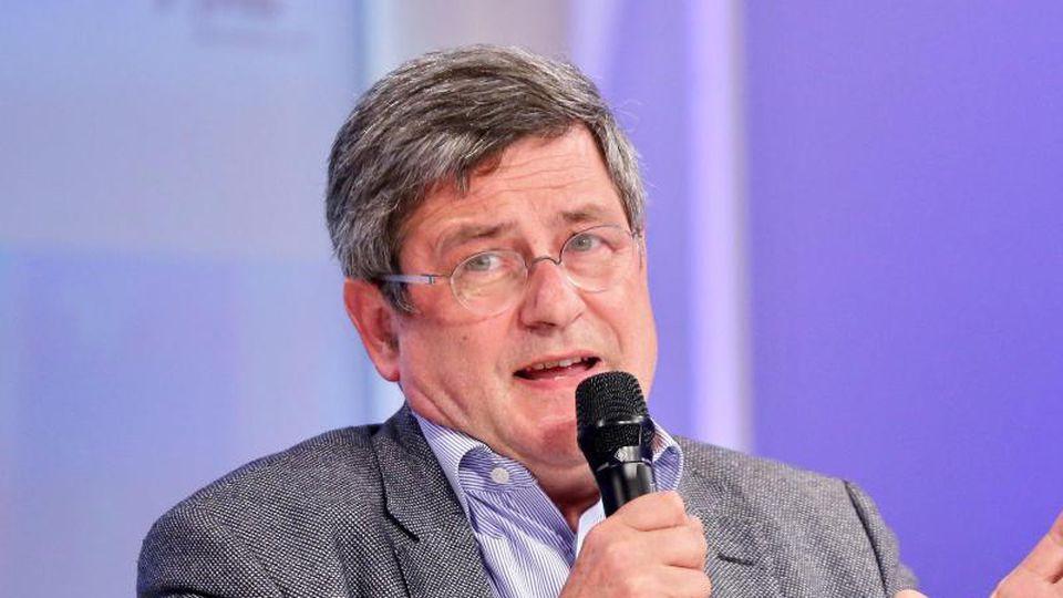 Der deutsche Journalist Roland Tichy spricht. Foto: Jan Woitas/dpa-Zentralbild/dpa