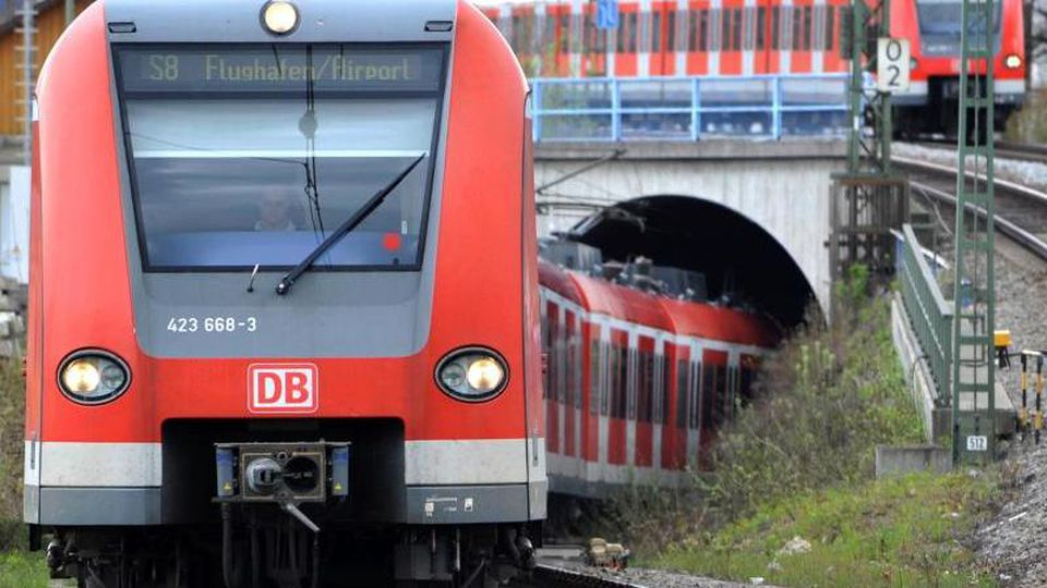 Eine S-Bahn fährt aus einem Tunnel. Foto: Frank Leonhardt/Archivbild
