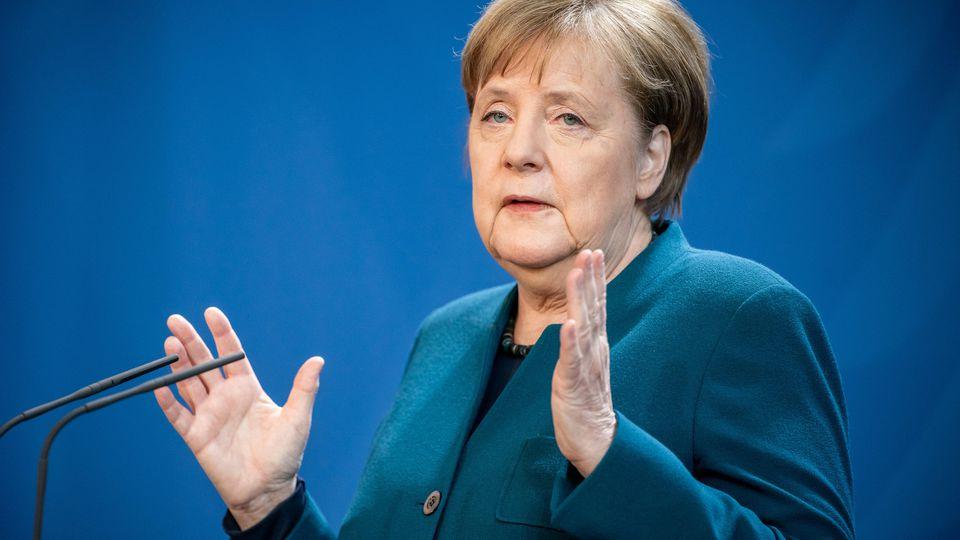 Angela Merkel: Pressekonferenz zur Corona-Krise