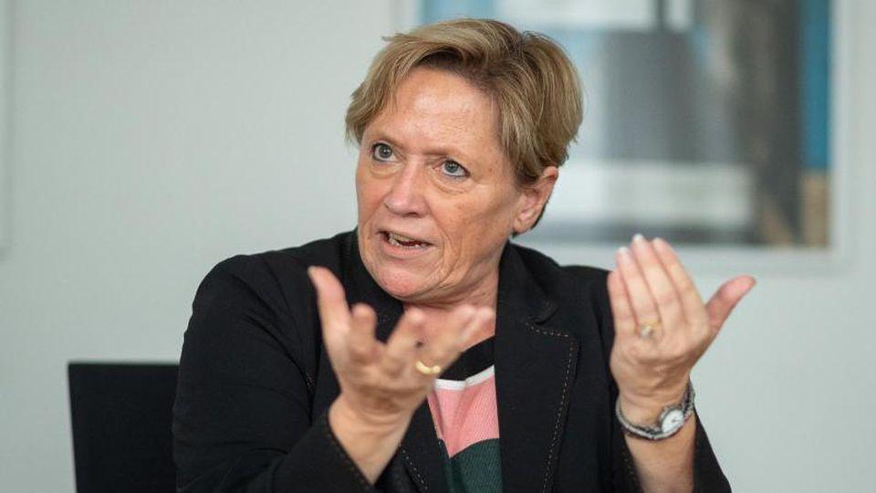 Susanne Eisenmann, Spitzenkandidatin der CDU Baden-Württemberg zur Landtagswahl 2021. Foto: Sebastian Gollnow/dpa
