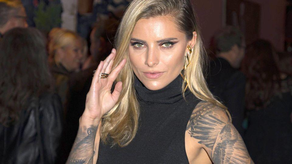 Sophia Thomalla präsentiert sich gerne sexy.