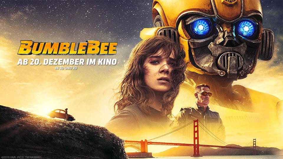 "Das Filmplakat zu ""Bumblebee""."