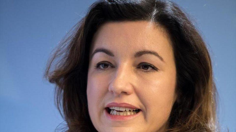 Dorothee Bär (CSU), Bundesministerin für Digitalisierung. Foto: Peter Kneffel/dpa