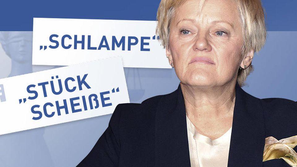 Bundestagsabgeordnete Renate Künast darf nach einem Gerichtsurteil in sozialen Medien beleidigt werden.